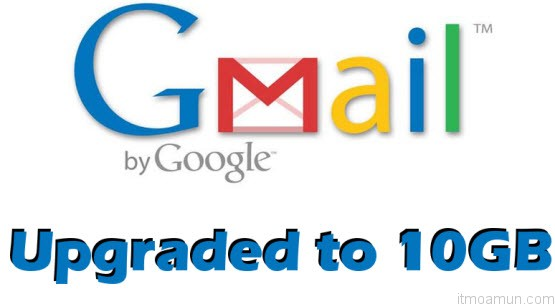 Gmail 10GB