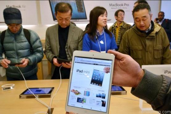 iPad Mini บรรยากาศการเปิดขายในเอเชีย