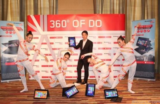 Lenovo IdeaPad Yoga และ ThinkPad Twist