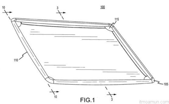 สิทธิบัตร Apple iPad