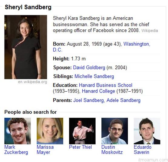 เชอรีล แซนด์เบิร์ก CEO Facebook
