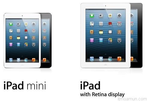 iPad 4 และ iPad Mini