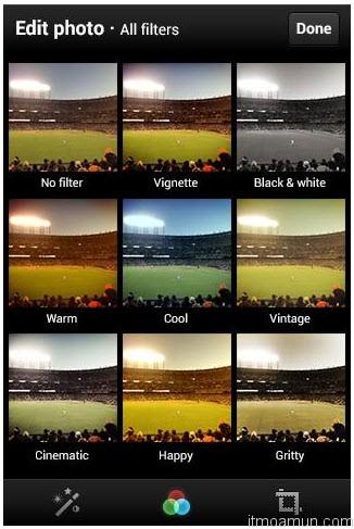 คุณสมบัติ Twitter built-in image filters