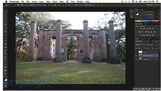 Adobe CS6 Retina displays