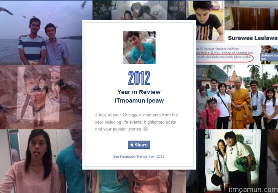 Facebook 2012 Year in Review