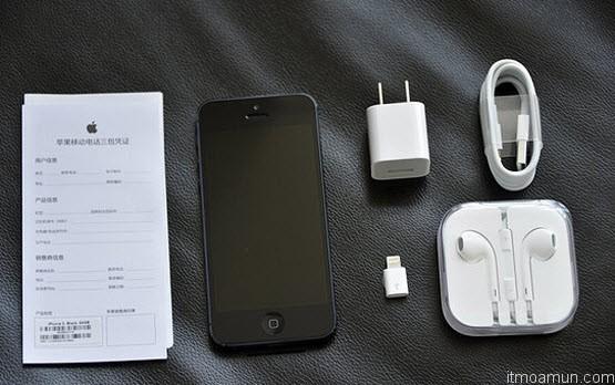 iPhone 5 Lightning to Micro USB Adapter