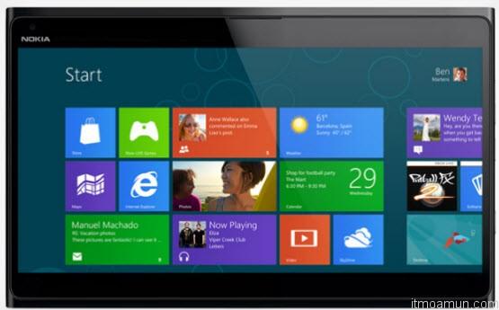 แท็บเล็ต Nokia บน Windows RT