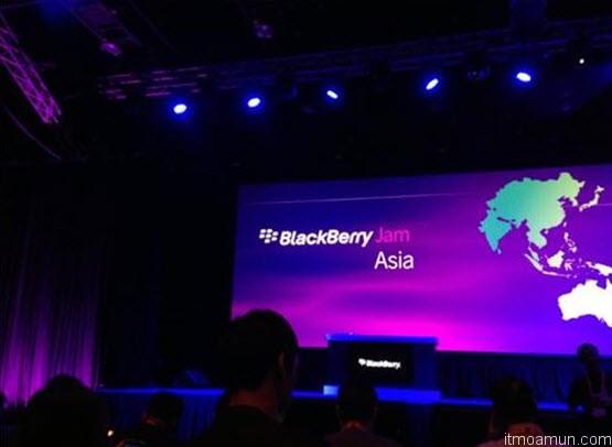 BlackBerry Jam Asia 2012