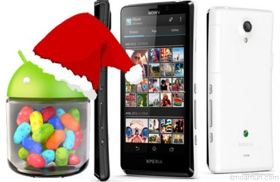 Sony Xperia T ปล่อย Jelly Bean 4.1.2