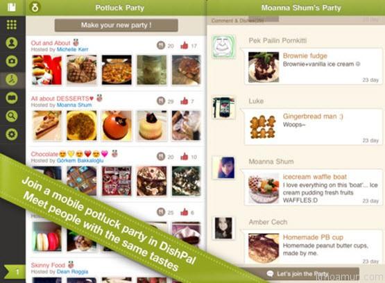 DishPal แอพพลิเคชั่น อาหาร