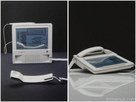 "Apple ""MacPhone"" design from 1984"