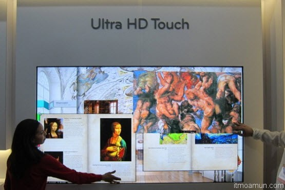 LG Ultra HD Touch 4K TV