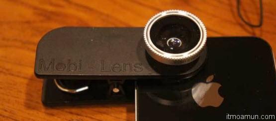 Mobi-Lens กล้องเสริมสำหรับมือถือและแท็บเล็ต