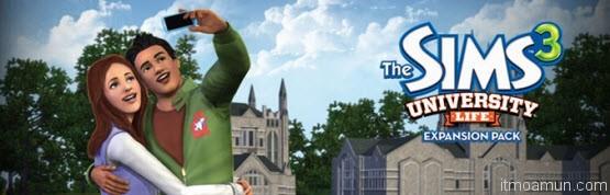 เกมส์ The Sims 3 ชีวิตมหาวิทยาลัย