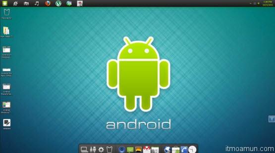 ระบบปฏิบัติการ android สำหรับเครื่องคอมพิวเตอร์