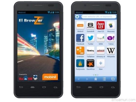 เว็บบราวเซอร์บนมือถือโดย baidu และ orange