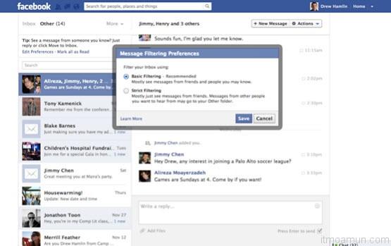 Facebook เก็บตังส์ค่าส่งข้อความ