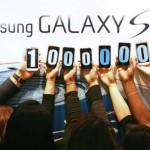 1 ร้อยล้านเครื่องแล้วสำหรับยอดขาย Galaxy S