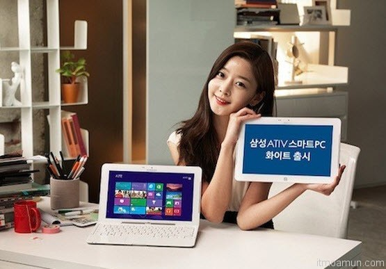 Samsung ATIV Smart PC สีขาว