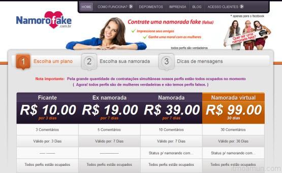NamoroFake.com.br ซื้อแฟนเป็นของตัวเอง