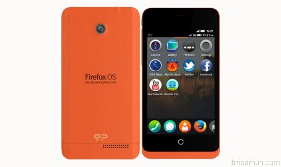 Keon Firefox OS Phone
