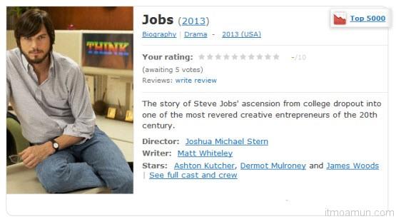 ภาพยนตร์ขีวประวัติของ Steve Jobs