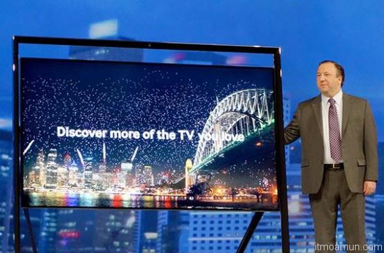 Samsung TV ทีวี 4K ขนาดใหญ่ที่สุดในโลก 85 นิ้ว