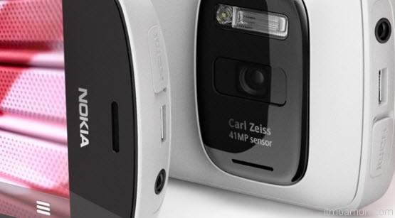 Nokia 808 Pureview, Camera 41 MP