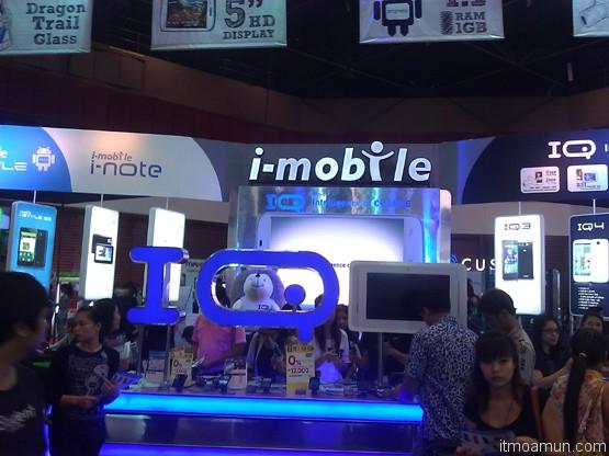บูธ i-mobile ในงาน thailand mobile expo 2013