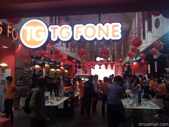 TG Fone รับบรรยากาศตรุษจีน thailand mobile expo 2013