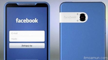 HTC Myst Facebook Phone