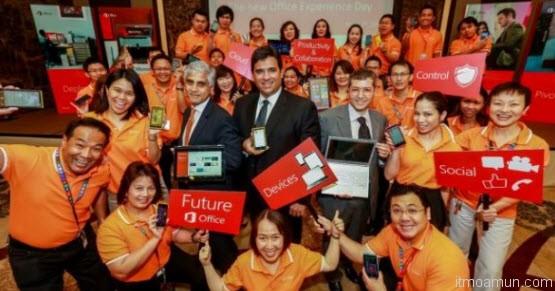 Microsoft เปิด Office ใหม่ในประเทศไทย