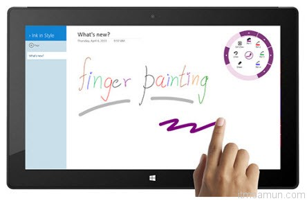 OneNote บน Windows 8