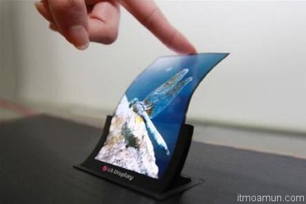 LG หน้าจอ OLED ขนาด 5 นิ้ว
