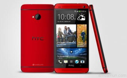 HTC One glamor red สีแดงเย้ายวนใจ