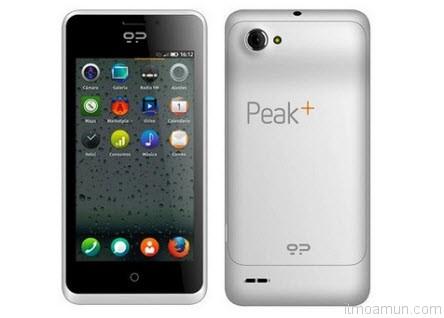 Firefox Geeksphone Peak+ สมาร์โฟน