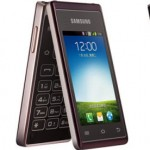 Samsung Hennessy มือถือระบบ Android แบบฝาพับ