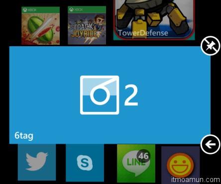 6tag แอพพลิเคชั่น สำหรับเล่น Instagram บน Windows Phone