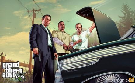 เกมส์  GTA - Grand Theft Auto V