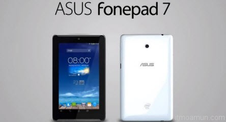 ASUS Fonepad 7 มาแน่! กับลำโพงคู่ด้านหน้า