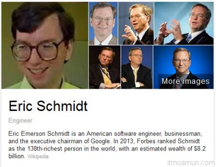 Eric Schmidt, CEO แห่ง Google