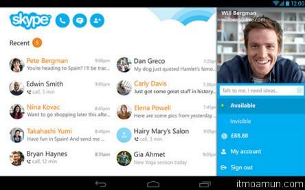 Skype สำหรับ Android