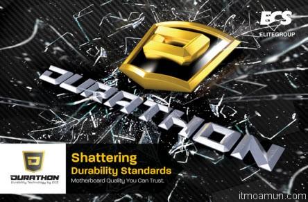 เทคโนโลยี ECS DURATHON Technology แผงวงจร PCB
