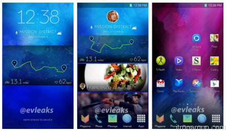 Galaxy S5 screenshots Evleaks