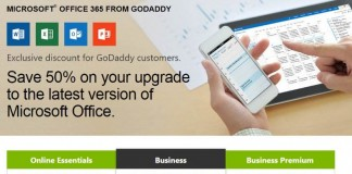 office 365 godaddy