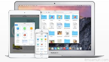 iCloud Drive บน iOS 8