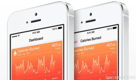 Health บน iOS 8