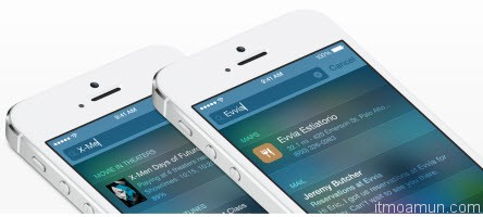 Spotlight บน iOS 8