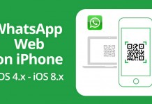 WhatsApp Web on iphone