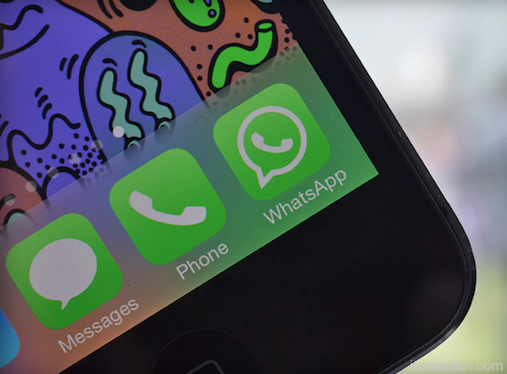 WhatsApp Web บน iPhone